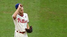 Zack Wheeler will miss start after injuring finger while putting on pants