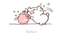 Dollmei治癒系漫畫-架是這樣架的~