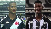 Ygor Catatau e Matheus Babi: histórias de superação unidas pelo futebol no Vasco x Botafogo