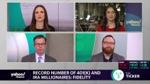 The number of 401(K) and IRA millionaires reaches record high: Fidelity