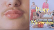 Billie razor brand is encouraging women to grow their mustaches for Movember