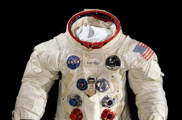 Smithsonian crowdfunds preservation of Neil Armstrong's spacesuit