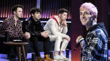 Happiness begins: Jonas Brothers give recovering addict Able Heart his big break on 'Songland'
