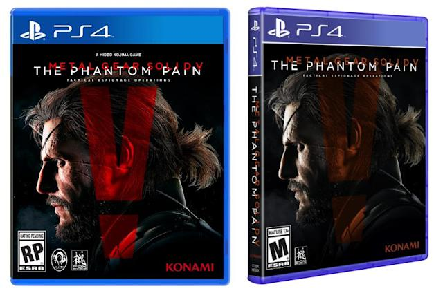 'Metal Gear' creator's name deleted from 'Phantom Pain' box