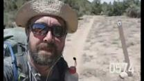 Hiker takes selfie on every mile of five-month USA trek
