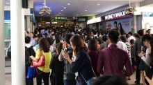 Train delay on East West Line causes crowds at stations