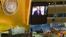 At U.N., Trump demands action against China over virus, Xi urges cooperation