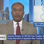 New Jersey Will Not Fine Travelers Who Don't Provide Information Or Quarantine
