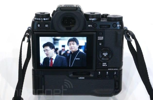 Fujifilm's X-T1 camera is getting a revamped autofocus system