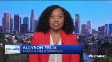 Olympic athlete Allyson Felix shares her Nike pregnancy story