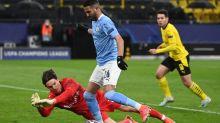 Man City reach Champions League semis with 2-1 win at Dortmund