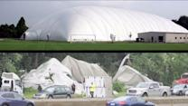 Domed Sports Complex Torn Apart By Tornado