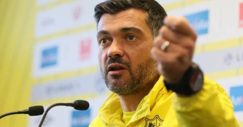 Foot - L1 - Nantes - Sergio Conceiçao (Nantes) refuse de répondre aux questions des journalistes