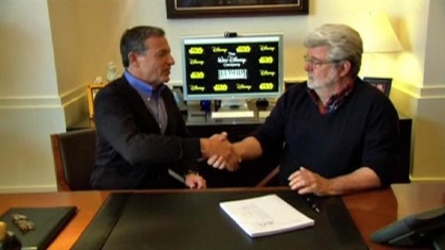 George Lucas, Disney CEO discuss Lucasfilm sale