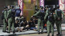 Hong Kong police arrest 289 at protests over election delay
