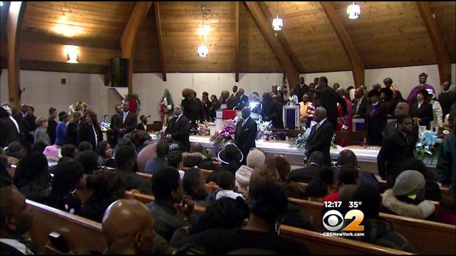 Funeral Held For 4 Killed In Jersey City Fire