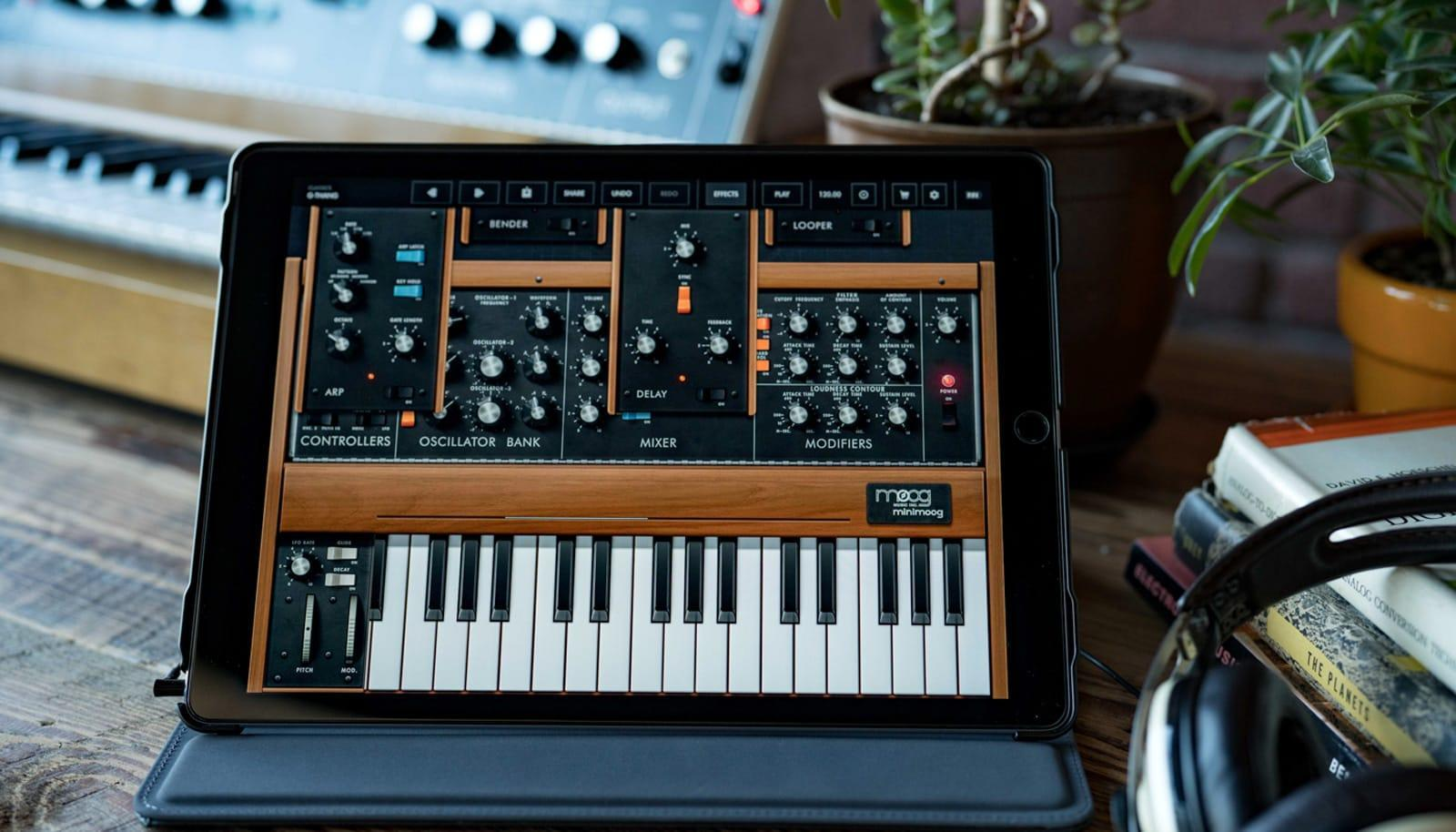 Moog and Korg make synth apps free to help musicians stuck at home | Engadget