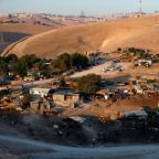 Israel puts West Bank Bedouin village eviction on hold for several weeks