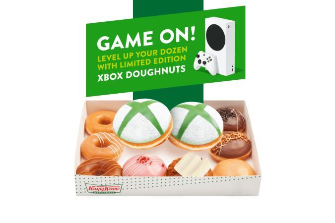 Krispy Creme Xbox Doughnuts
