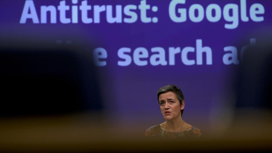 EU fines Google $1.7B for abusing online ads market