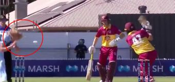 'Scary' moment for NSW bowler in QLD win