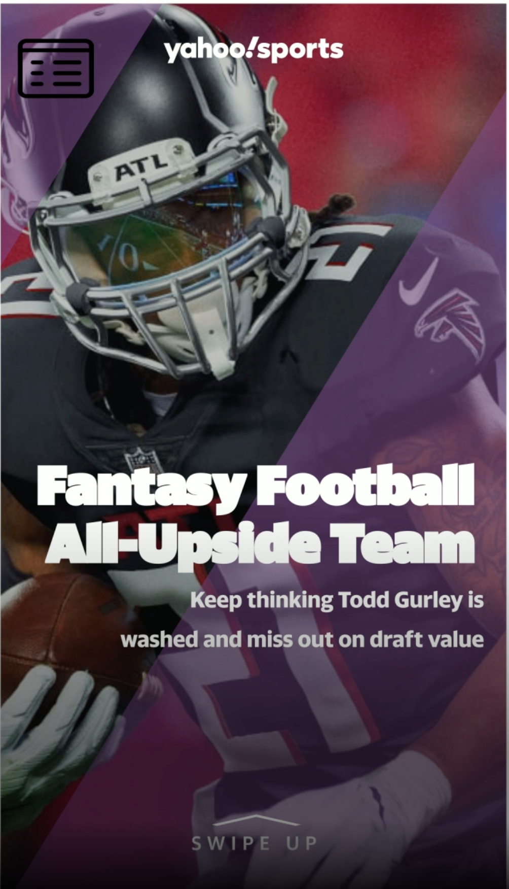 Your 2020 Fantasy Football All Upside Team Keep Thinking Todd Gurley Is Washed And Miss Out On Draft Value