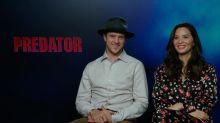"""Olivia Munn estrena Predator: """"No hacía falta una historia de amor, nuestros personajes son fuertes por su cuenta"""""""