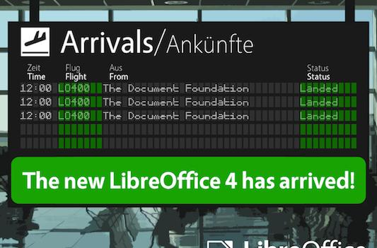 LibreOffice kicks it up to version 4.0, promises leaner performance and greater interoperability