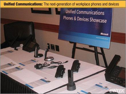 """Microsoft shows off """"unified communications"""" devices"""