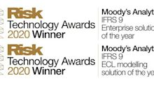 Moody's Analytics Repeats IFRS 9 Wins at Risk Technology Awards
