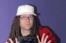 Xbox creator J Allard loses PSP bet, wears dreads