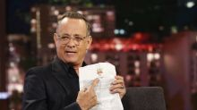 Tom Hanks admits 'Disney will want to kick my ass' for revealing 'Toy Story' secrets
