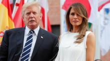 Melania Trump is more popular than Donald, new poll finds