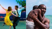 Globos de Oro: 'La La Land' hace historia y el cine indie llega a la cima de Hollywood con 'Moonlight'