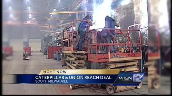 Caterpillar, union reach tentative deal