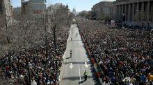 """""""Marche pour nos vies"""": plus d'un million de personnes dans les rues américaines contre les armes à feu"""