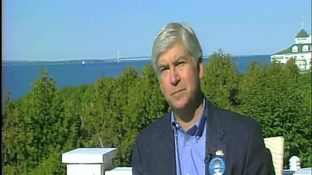 Stephen Clark interviews Rick Snyder