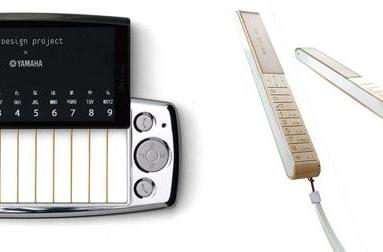 KDDI's au design project creates cellphones that double as instruments