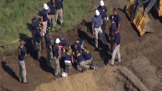 Search for Jimmy Hoffa's remains