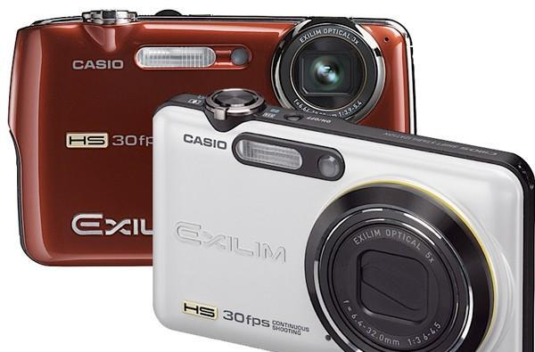 Casio's EX-FS10 and EX-FC100 compacts burst faster than your DSLR