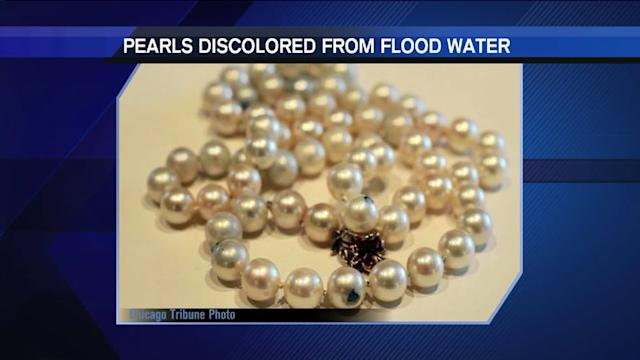 Recent floods lead to waterlogged safety deposit boxes