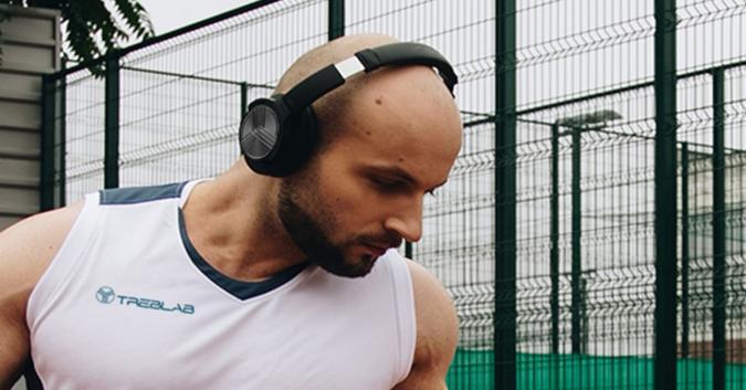 The TREBLAB Z2 headphones