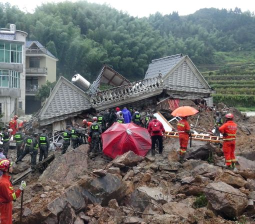 At least 8 dead, 19 missing after China landslides: Xinhua