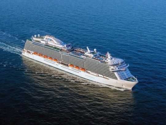 Cruise Secrets How Ships Mostly Keep You From Getting Seasick - Cruise ship in rough waters