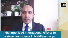 India must lead international efforts to restore democracy in Maldives, says former VP