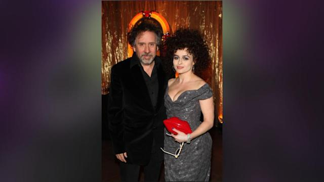 Helena Bonham Carter And Tim Burton Hold Hands In First Public Outing Since Cheating Claims