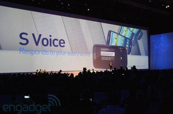 Samsung announces SmartStay and S Voice features for the Galaxy S III
