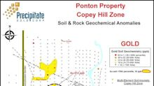 Precipitate Expands Copey Hill Zone and Returns Rock Sample Grading 53.0 g/t Gold at Ponton Project, Dominican Republic