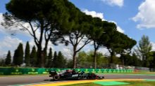 Wary Mercedes dominate practice in Imola as Verstappen runs into trouble