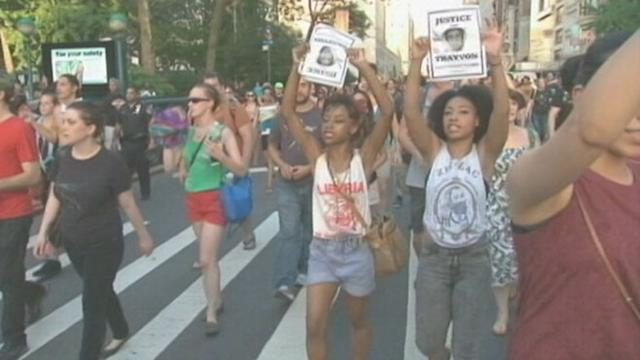 George Zimmerman Verdict Protesters Remain Strong